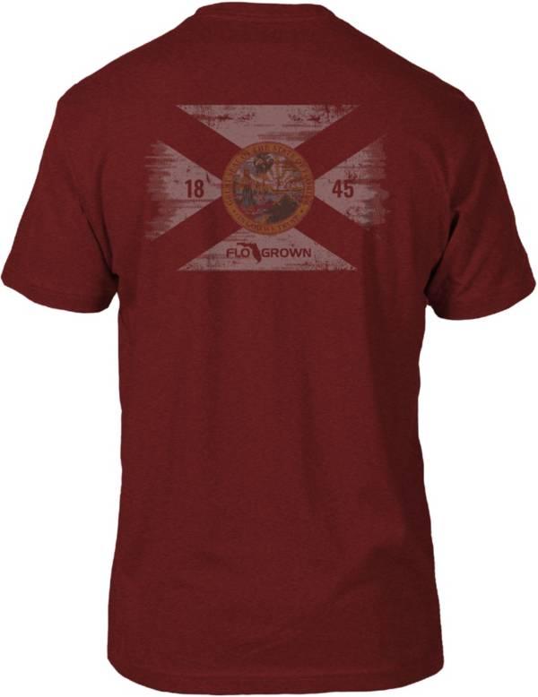 FloGrown Men's Washed Flag Short Sleeve T-Shirt product image