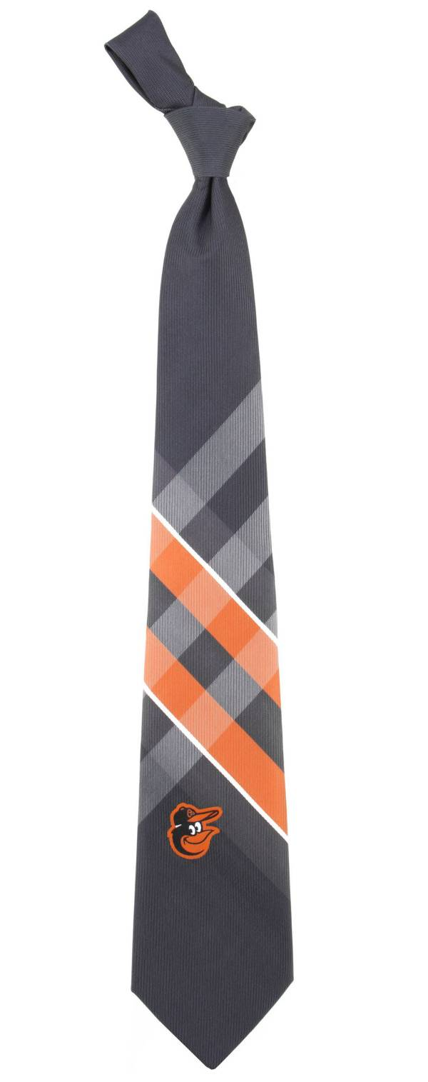 Eagles Wings Baltimore Orioles Grid Necktie product image
