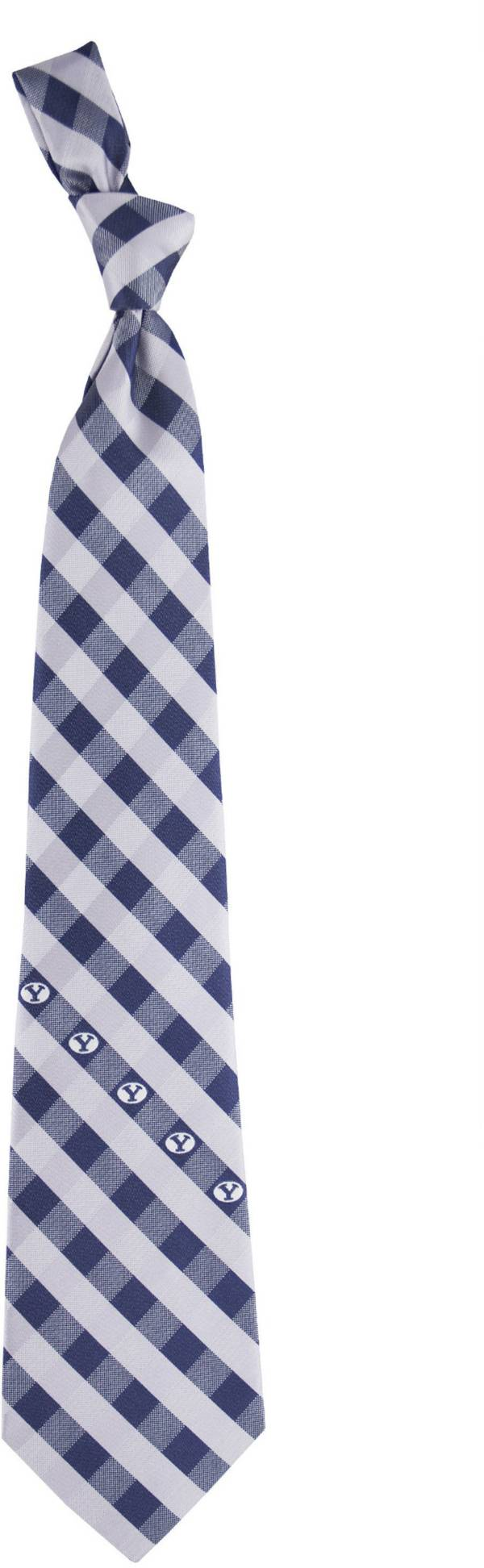 Eagles Wings BYU Cougars Check Necktie product image