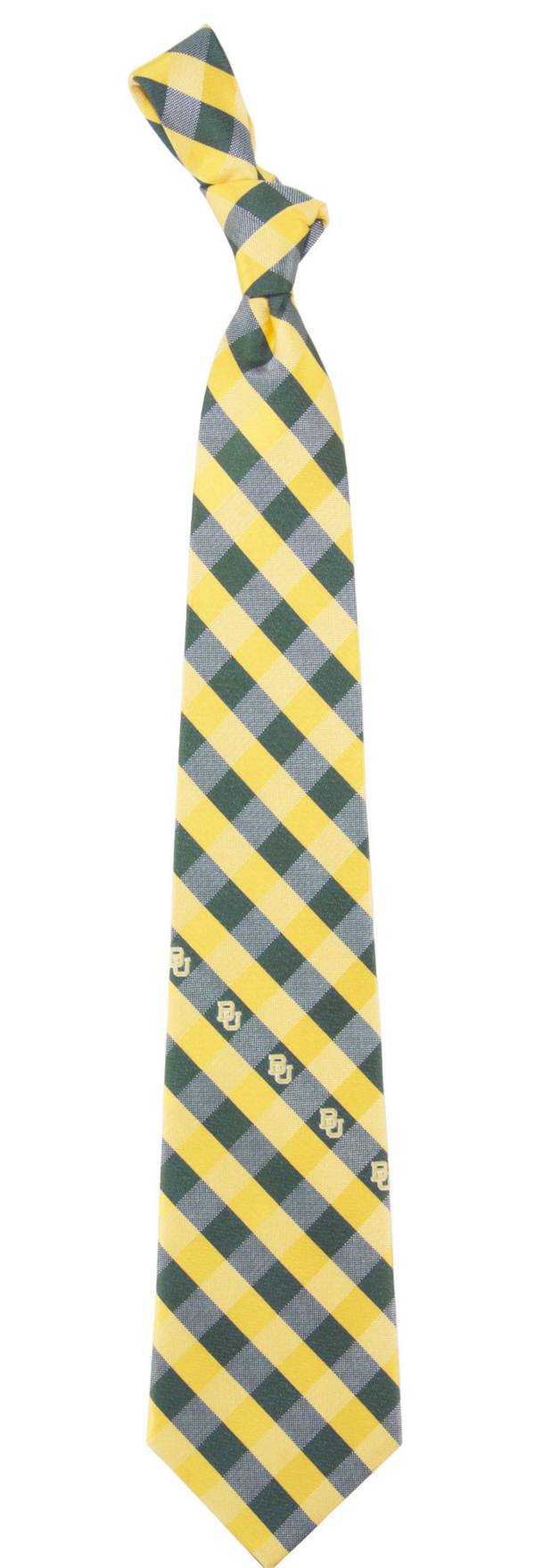 Eagles Wings Baylor Bears Check Necktie product image