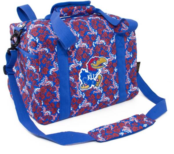 Eagles Wings Kansas Jayhawks Quilted Cotton Mini Duffle Bag product image