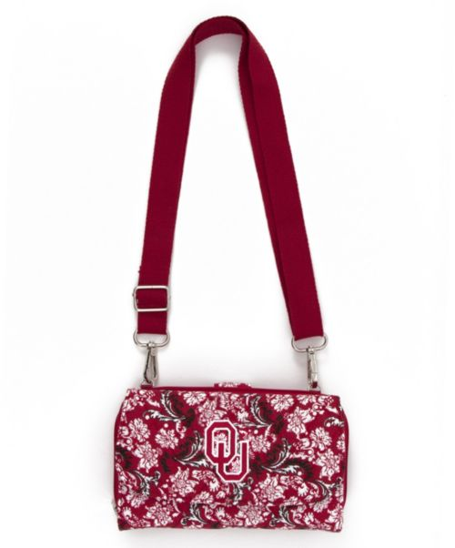 Eagles Wings Oklahoma Sooners Quilted Cotton Mini Duffle Bag ... 7e1f8603c9937