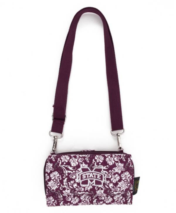 Eagles Wings Mississippi State Bulldogs Quilted Cotton Cross Body Wallet product image