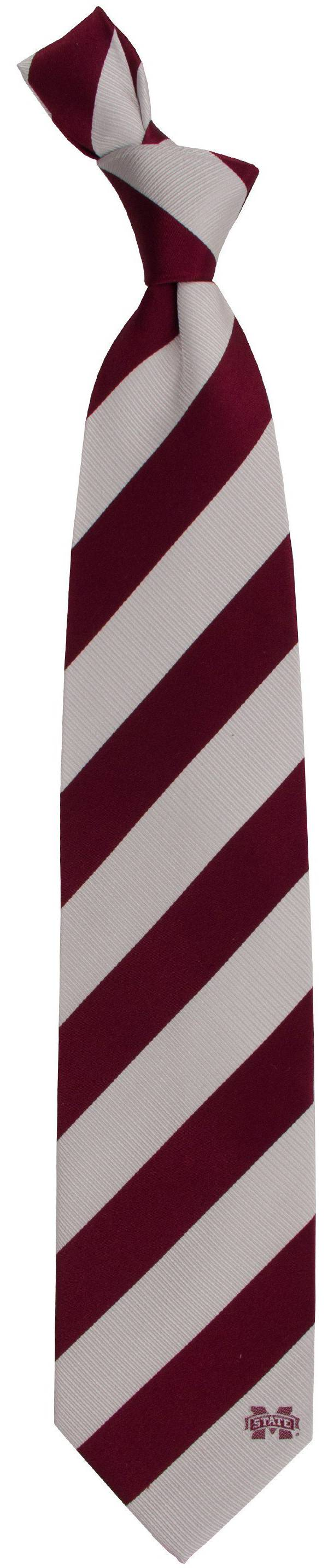 Eagles Wings Mississippi State Bulldogs Woven Silk Necktie product image