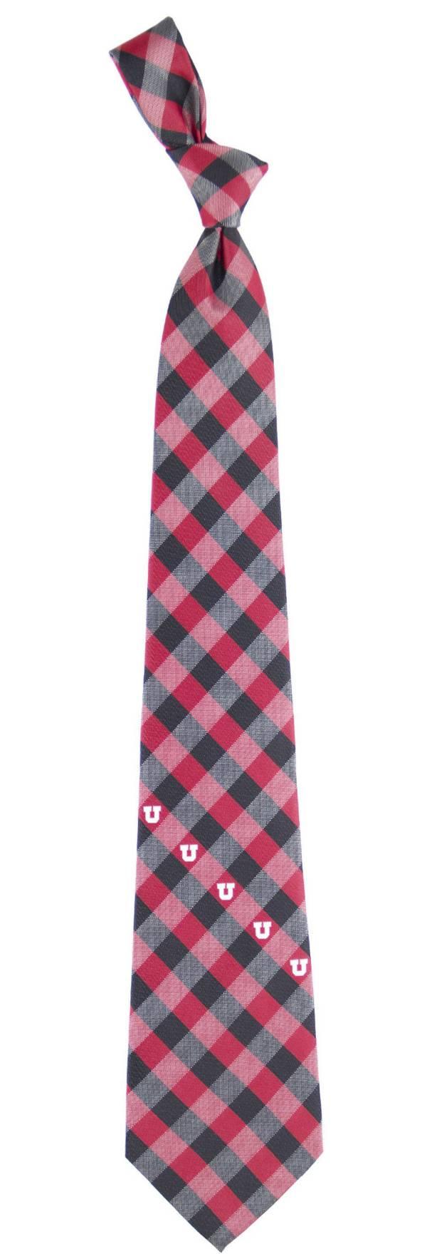 Eagles Wings Utah Utes Check Necktie product image