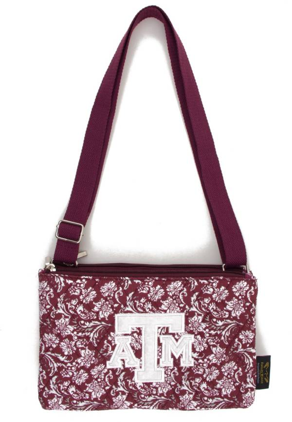 Eagles Wings Texas A&M Aggies Quilted Cotton Cross Body Purse product image