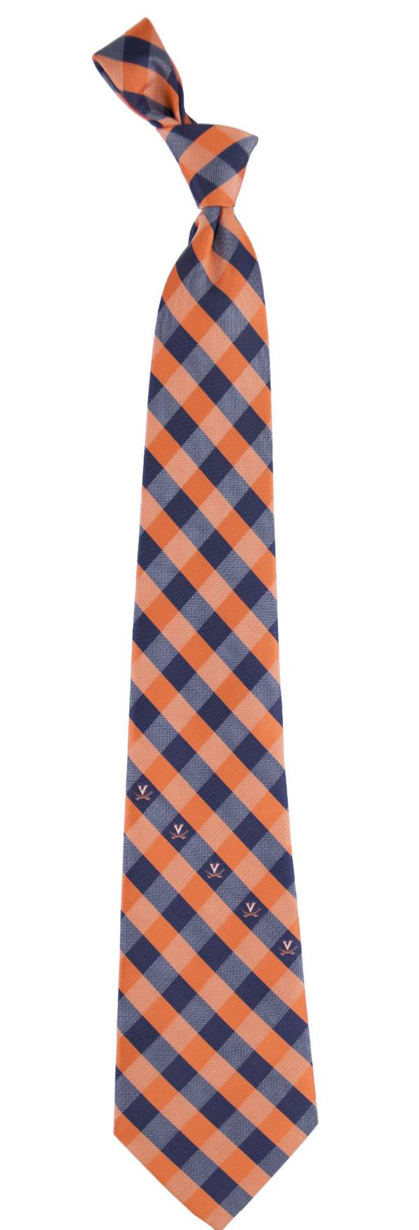 Eagles Wings Virginia Cavaliers Check Necktie product image