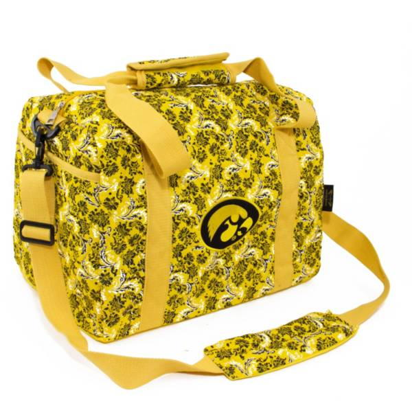 Eagles Wings Iowa Hawkeyes Quilted Cotton Mini Duffle Bag product image