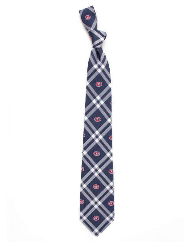 Eagles Wings Montreal Canadiens Woven Polyester Necktie product image