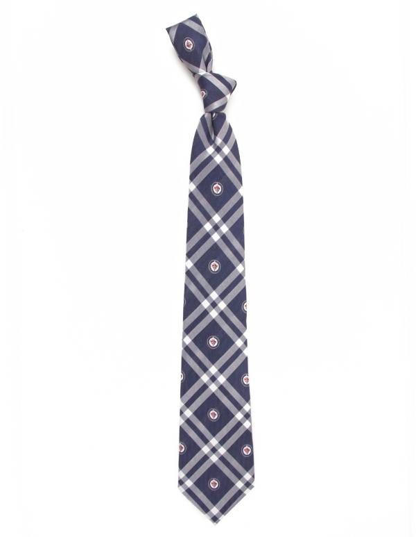Eagles Wings Winnipeg Jets Woven Polyester Necktie product image