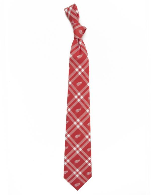 Eagles Wings Detroit Red Wings Woven Polyester Necktie product image