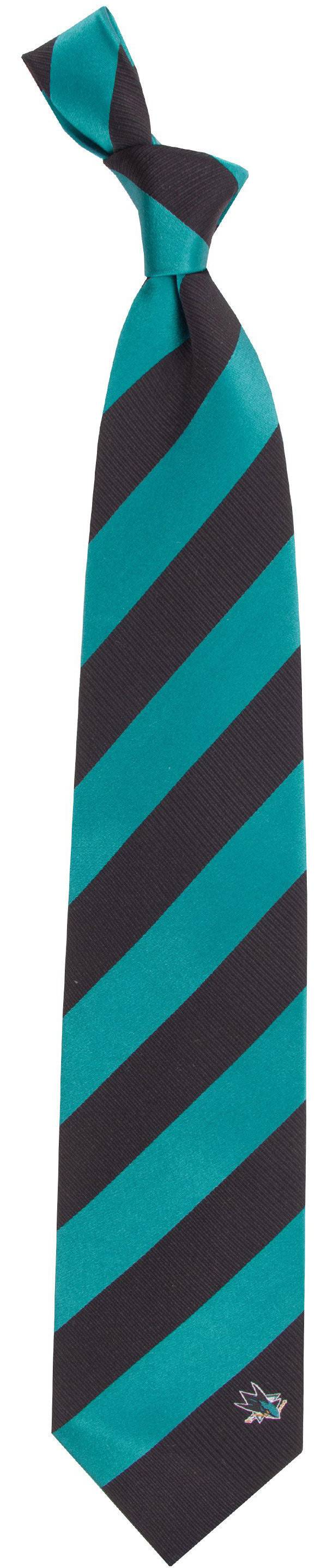 Eagles Wings San Jose Sharks Woven Silk Necktie product image