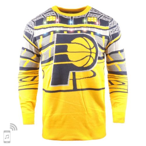 023adcd6 FOCO Indiana Pacers Light Up Sweater | DICK'S Sporting Goods