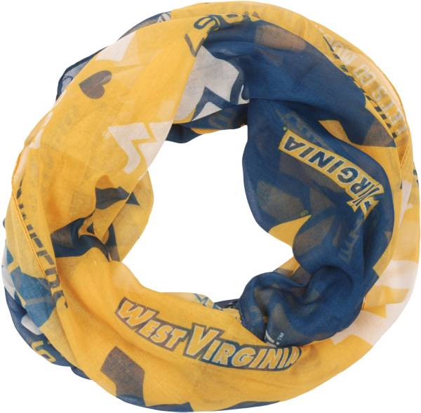 FOCO West Virginia Mountaineers Colorblend Infinity Scarf product image