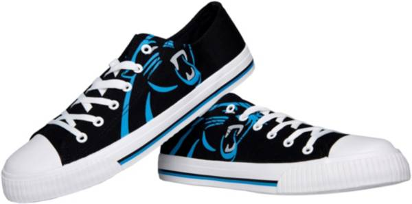 FOCO Carolina Panthers Men's Canvas Sneakers product image