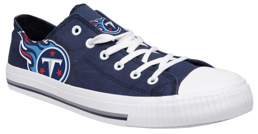 ad42a8f7 FOCO Tennessee Titans Canvas Sneakers