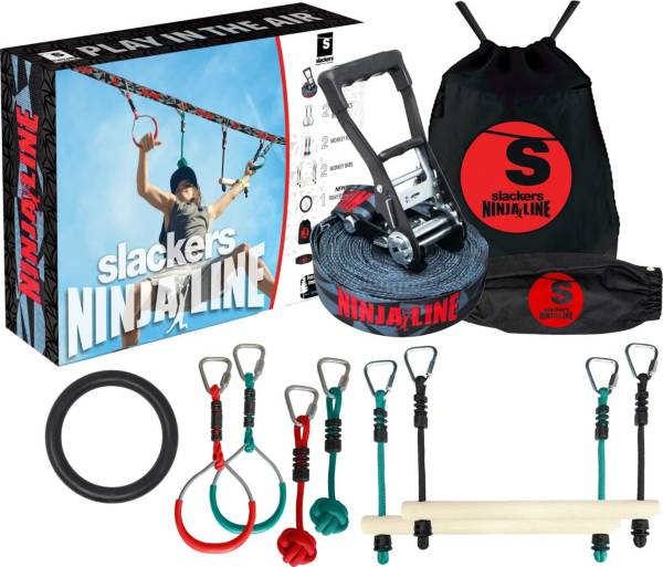 Ninjaline 36'  Intro Kit with Obstacles product image