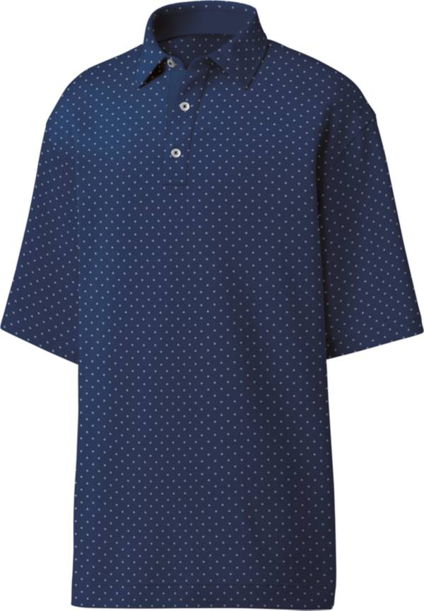 FootJoy Men's Lisle Diamond Print Golf Polo product image