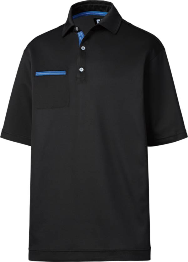 FootJoy Men's Stretch Pique Chest Pocket Golf Polo product image