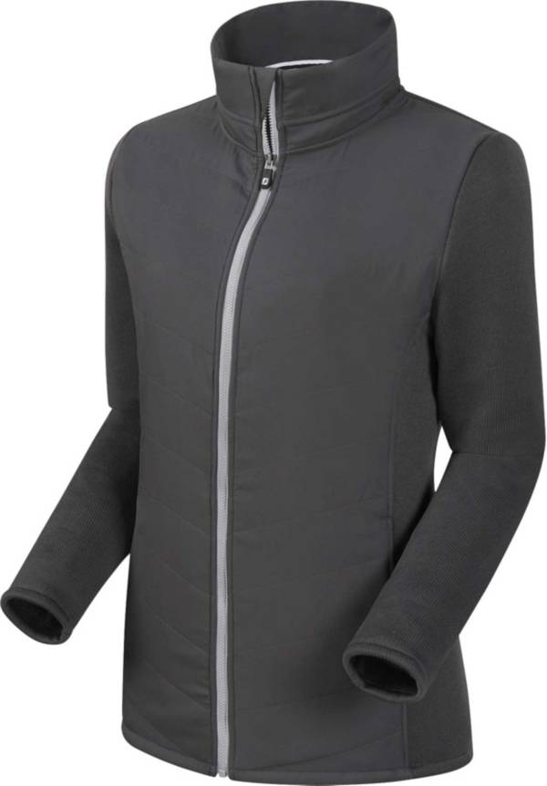 FootJoy Women's Full-Zip Quilted Hybrid Golf Jacket product image