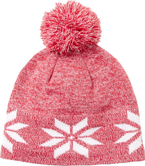 Field & Stream Youth Cabin Snowflake Pom Beanie product image