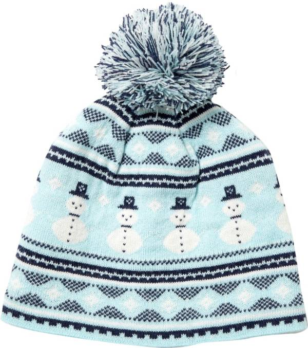 Field & Stream Youth Cabin Snowman Pom Beanie product image