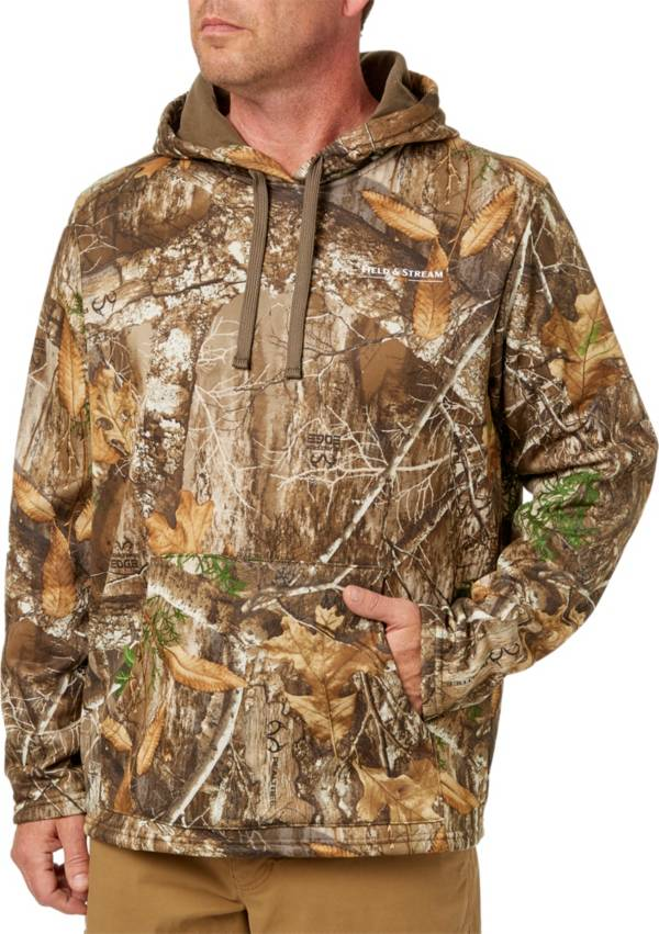 Field & Stream Men's Performance Fleece Camo Hoodie (Regular and Big & Tall) product image
