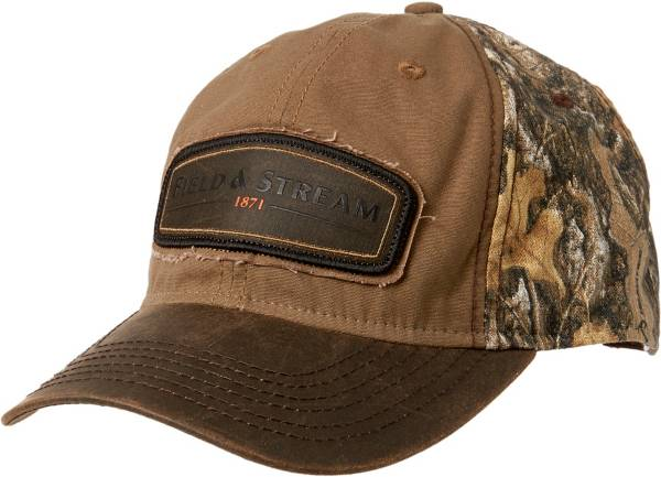 Field & Stream Men's Camo Waxed Patch Hat product image