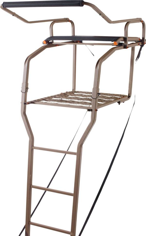 Field & Stream Lookout Deluxe 15' Ladder Stand – Ergo Mesh Seat product image