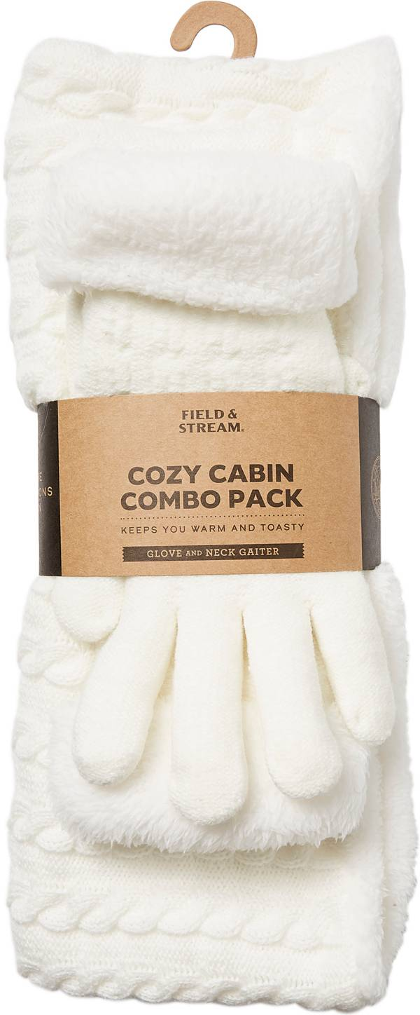 Field & Stream Women's Cozy Gift Set Cable Snood & Gloves product image