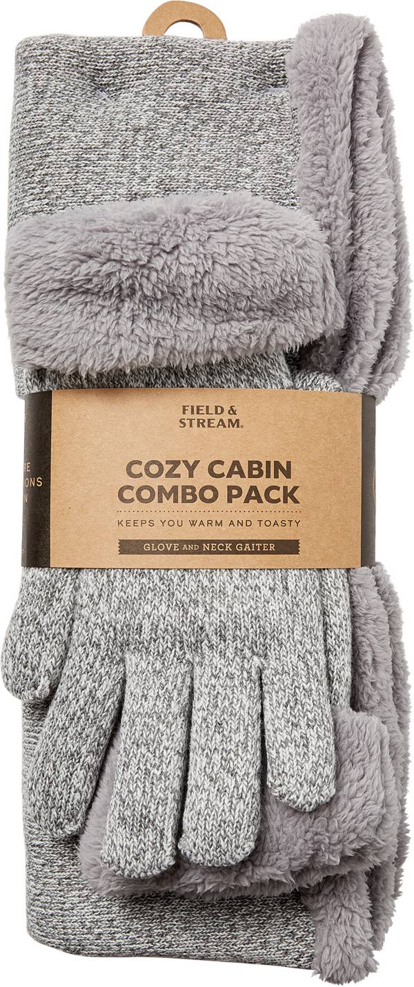Field & Stream Women's Cozy Gift Set Marled Snood & Gloves product image