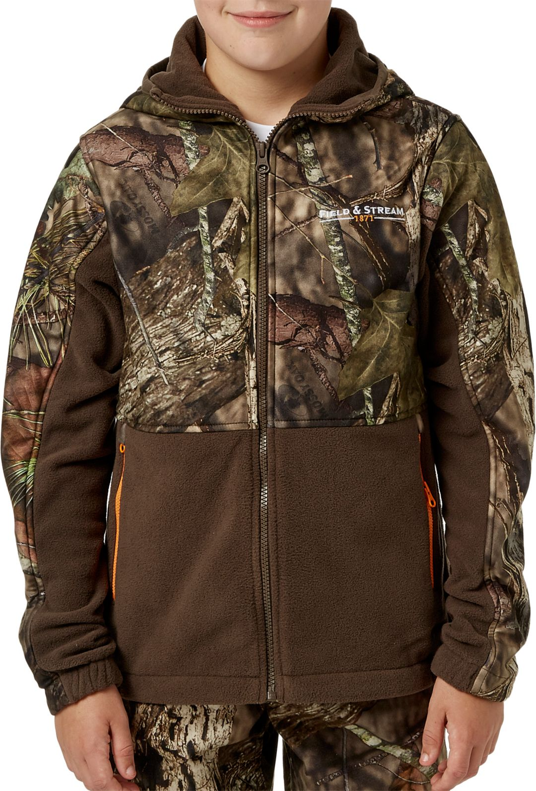 90a194bcbffb6 Field & Stream Youth Every Hunt Hooded Hunting Jacket | DICK'S ...