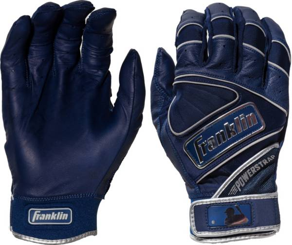Franklin Adult Powerstrap Chrome Batting Gloves product image