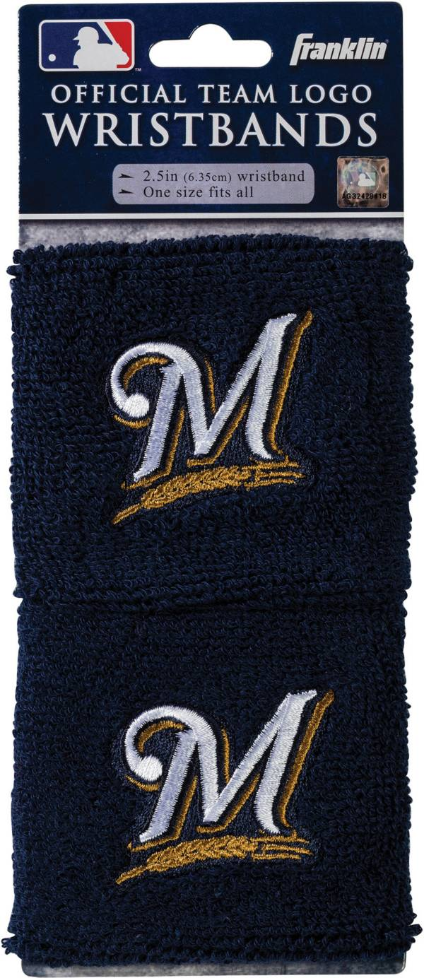 Franklin Milwaukee Brewers Embroidered Wristbands product image