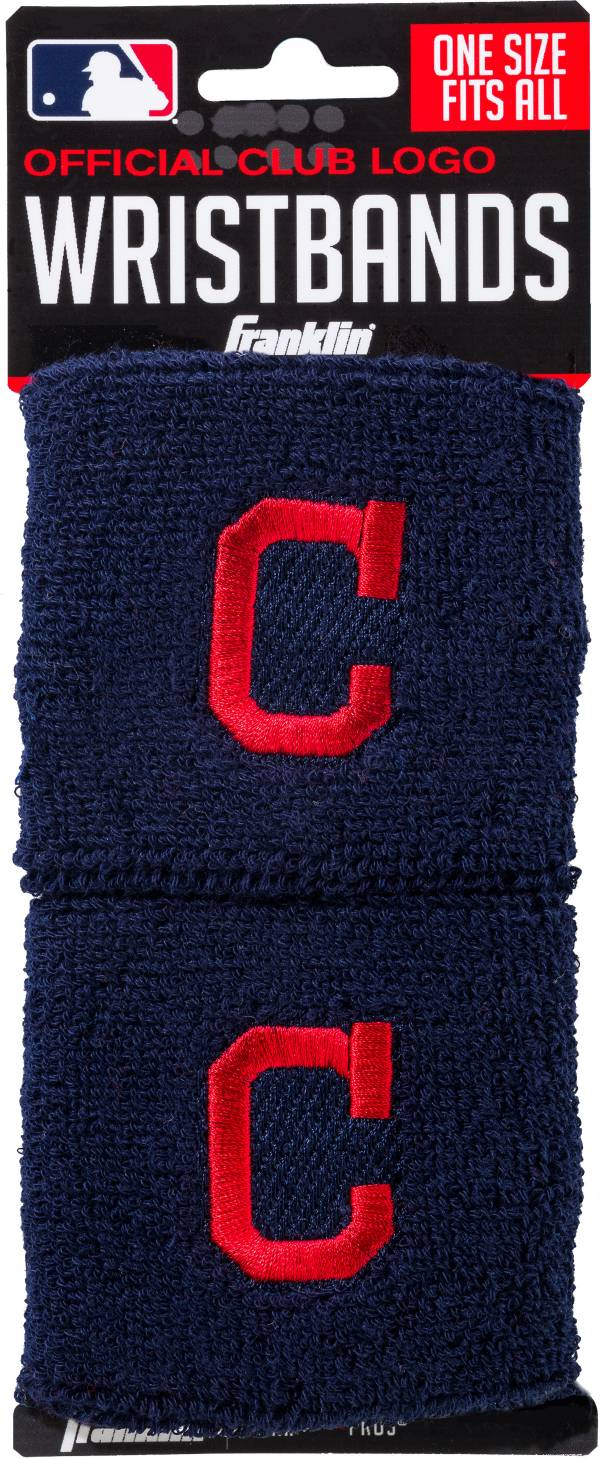 Franklin Cleveland Indians Embroidered Wristbands product image