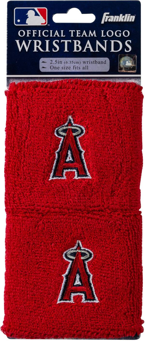 Franklin Los Angeles Angels Embroidered Wristbands product image
