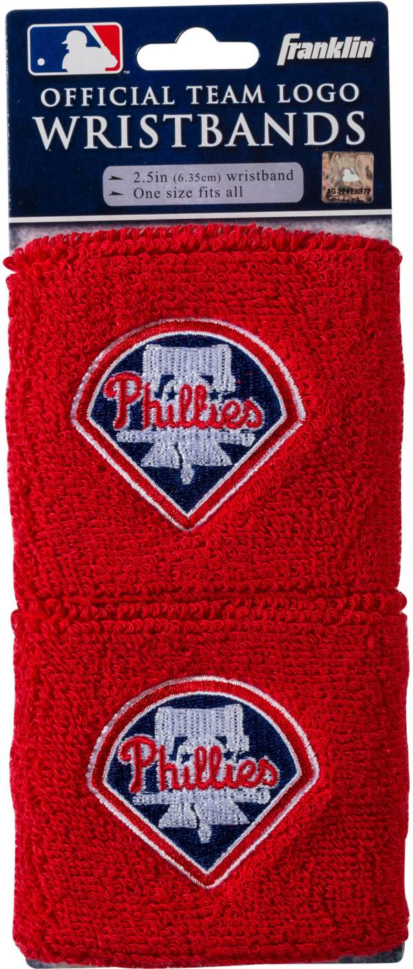 Franklin Philadelphia Phillies Embroidered Wristbands product image