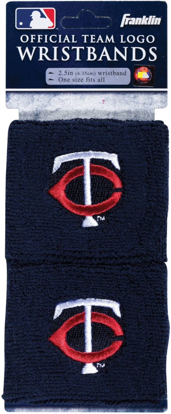 Franklin Minnesota Twins Embroidered Wristbands product image