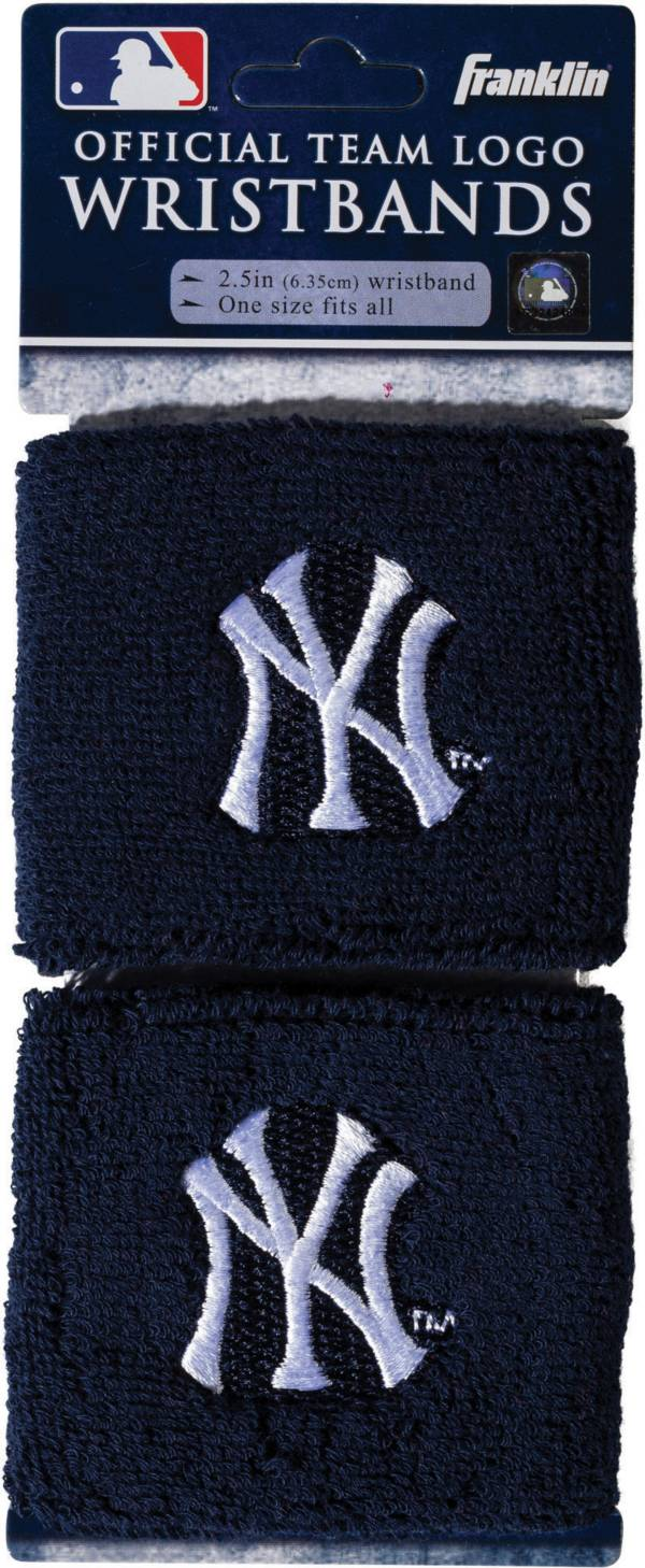 Franklin New York Yankees Embroidered Wristbands product image