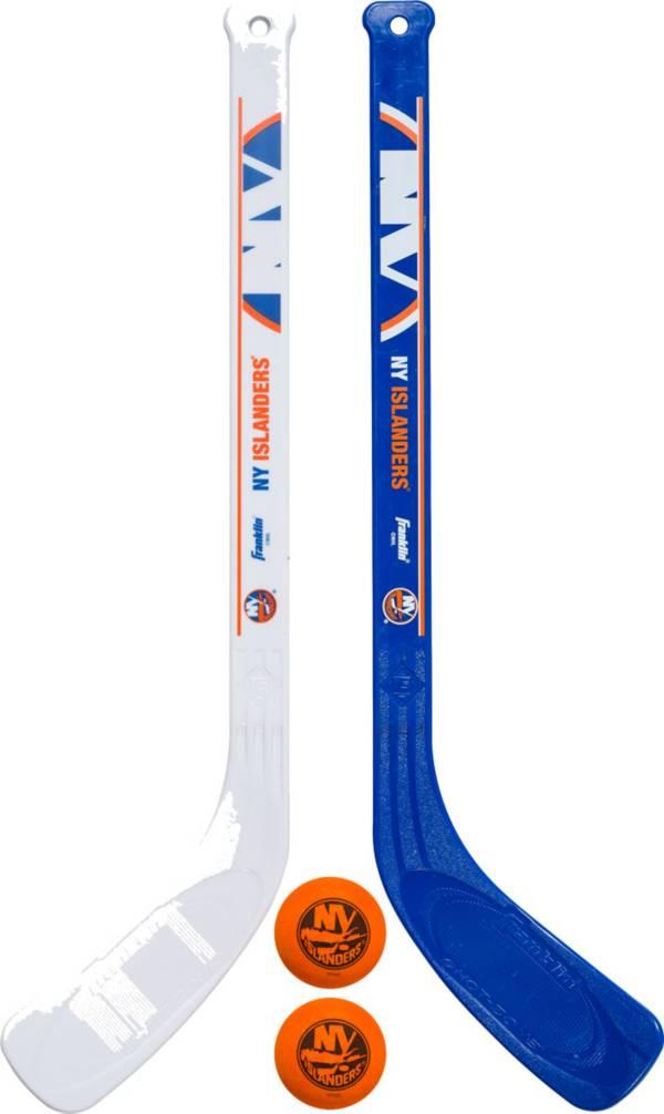 Franklin New York Islanders Mini Street Hockey Player Stick and Ball Set product image