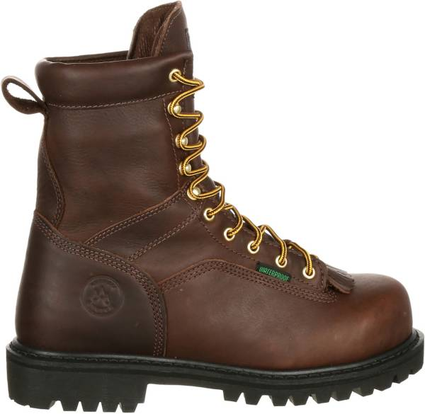 Georgia Boot Men's Lace-to-Toe EH Waterproof Steel Toe Work Boots product image