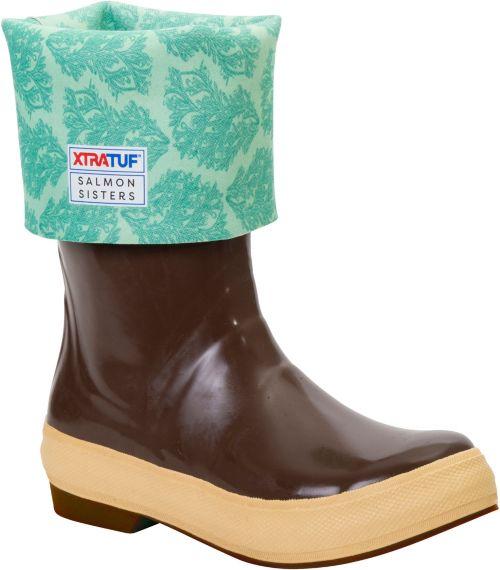 8de42ffd7a691 XTRATUF Women s Salmon Sisters 15   Legacy Rubber Boots