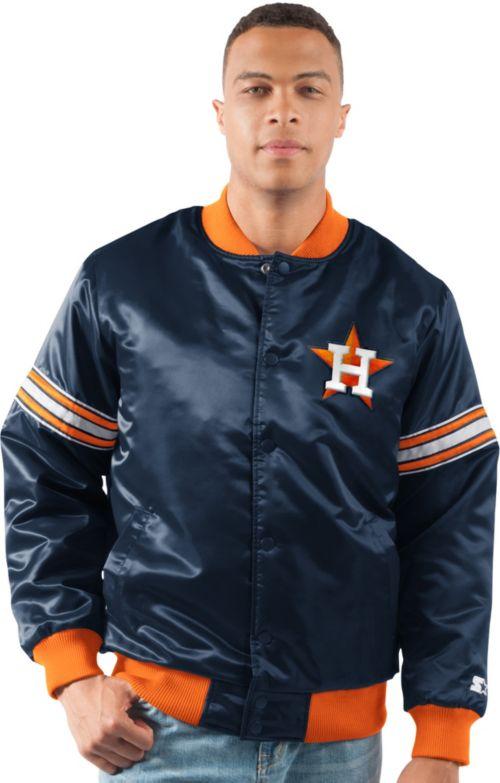 Starter Men s Houston Astros Varsity Jacket   DICK S Sporting Goods 4295ad025ef7
