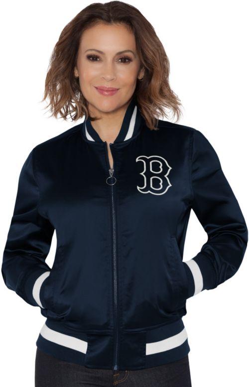 ab8e49603f6 Touch by Alyssa Milano Women s Boston Red Sox Bomber Jacket