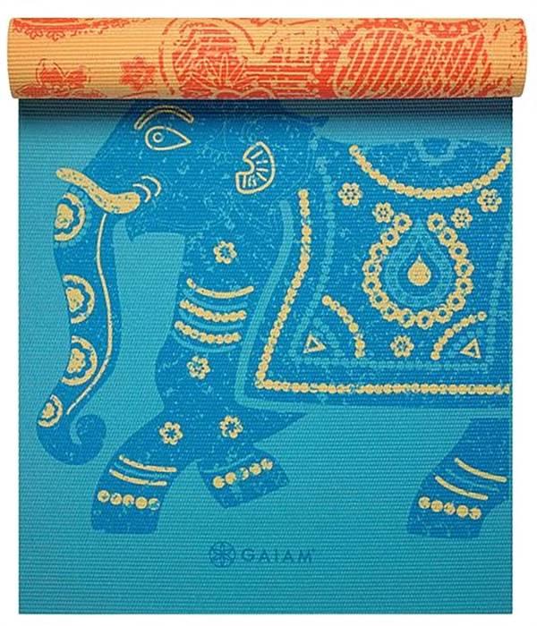 Gaiam 6mm Printed Reversible Yoga Mat product image