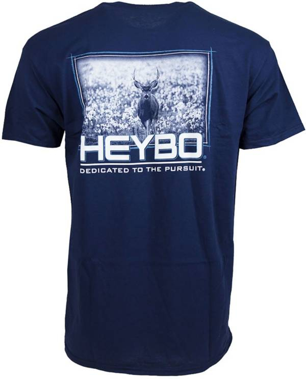 Heybo Men's Deer in Cotton Short Sleeve T-Shirt product image