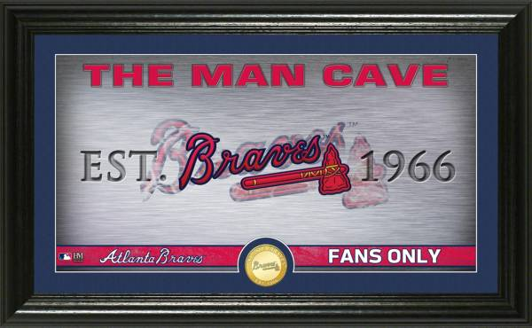 Highland Mint Atlanta Braves Man Cave Panoramic Bronze Coin Photo Mint product image