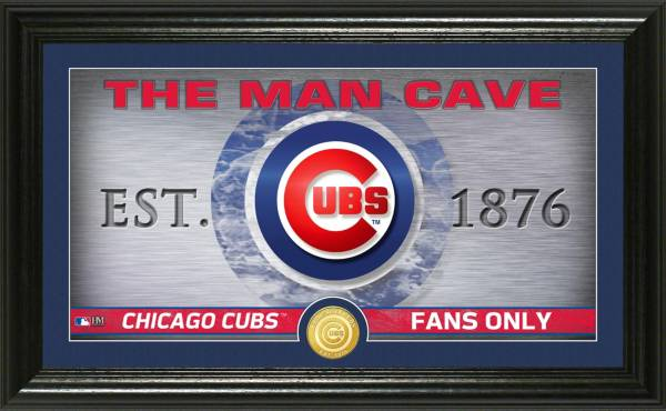 Highland Mint Chicago Cubs Man Cave Panoramic Bronze Coin Photo Mint product image
