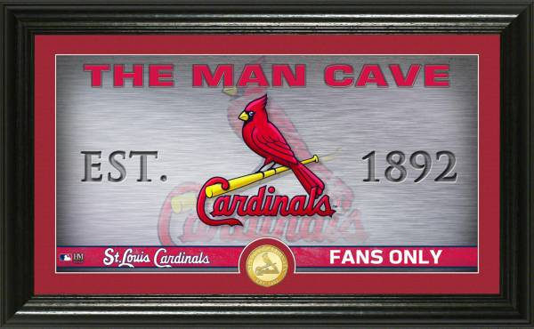Highland Mint St. Louis Cardinals Man Cave Panoramic Bronze Coin Photo Mint product image