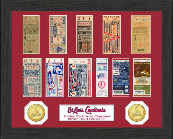 Highland Mint St. Louis Cardinals World Series Ticket Collection product image